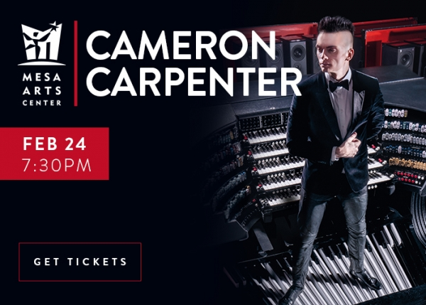 Cameron Carpenter at Mesa Arts Center