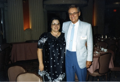 Madeline LiVolisi and Bill Brown, circa 1987